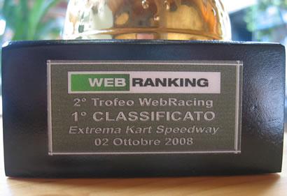 Campione per la seconda volta del Webranking kart!