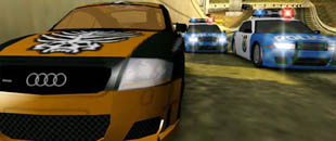 Esempio di product placement nel videogame Need For Speed
