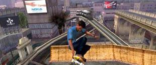Esempio di product placement nel videogioco Tony Hawk